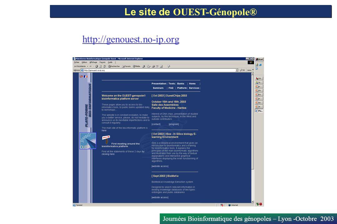 Le site de OUEST-Génopole®