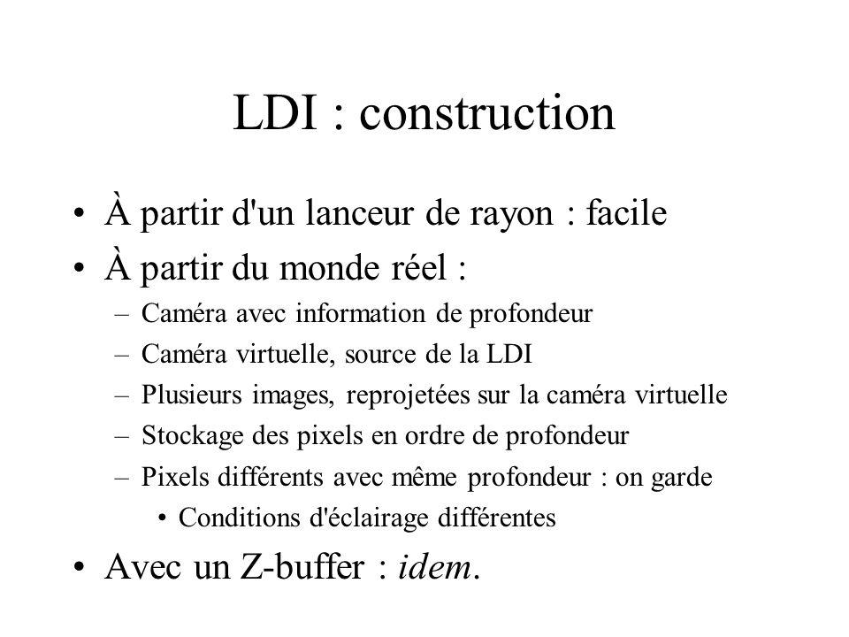 LDI : construction À partir d un lanceur de rayon : facile