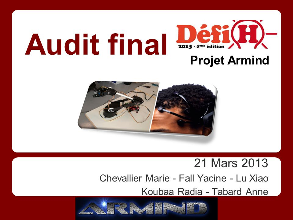 Audit final Projet Armind