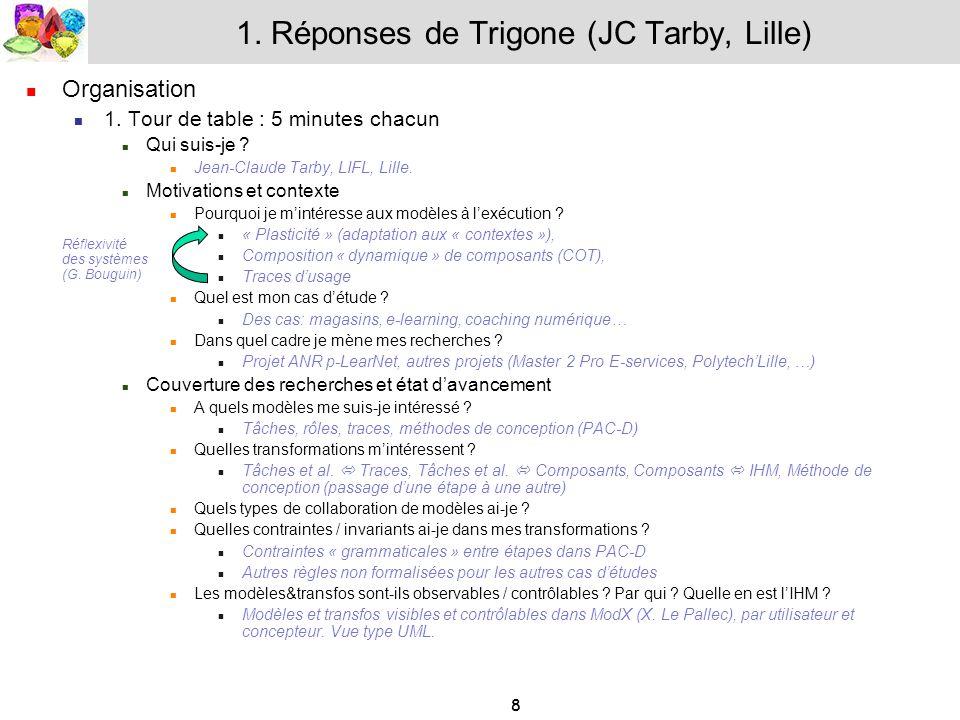 1. Réponses de Trigone (JC Tarby, Lille)
