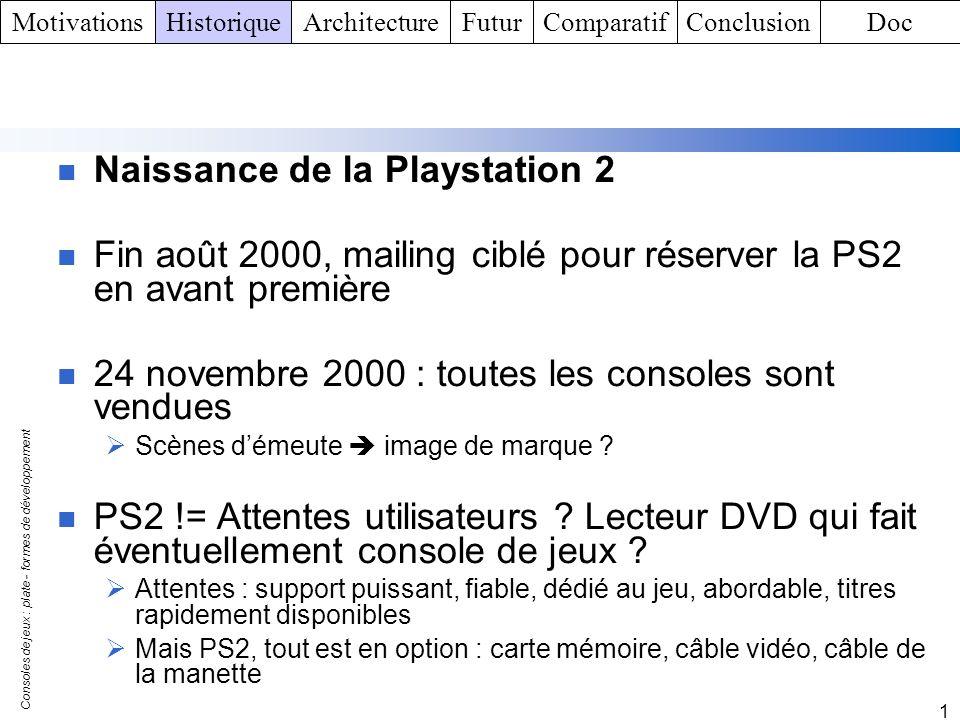 Naissance de la Playstation 2