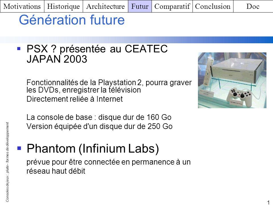 Génération future Phantom (Infinium Labs)