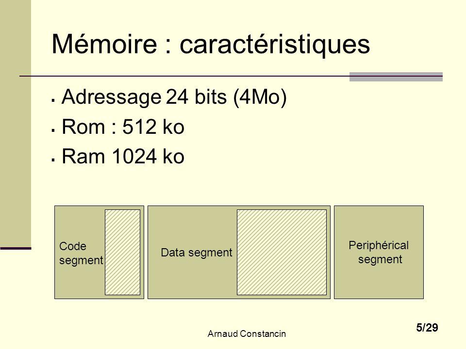 Mémoire : caractéristiques