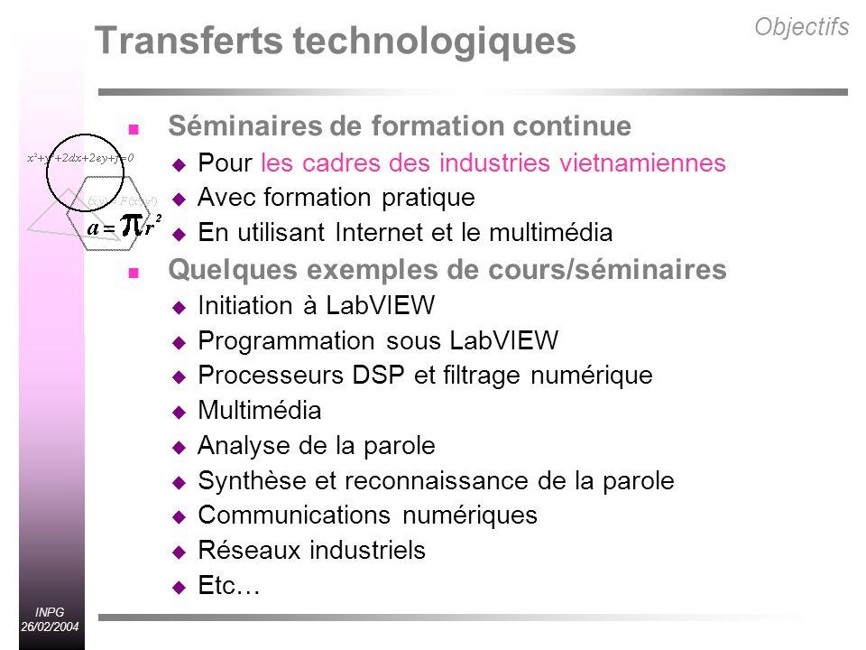 Transferts technologiques