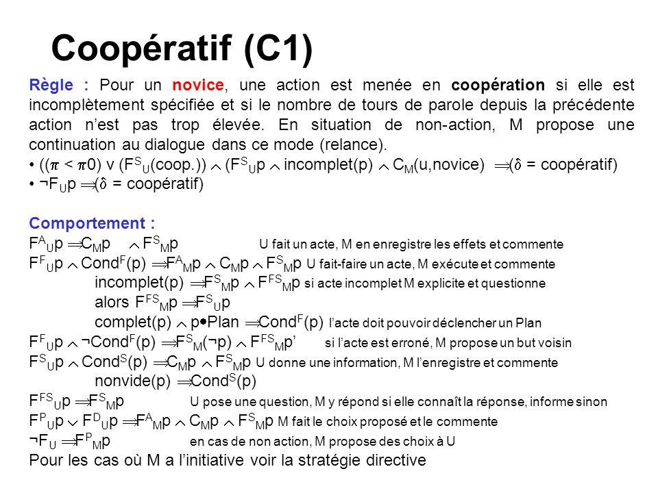 Coopératif (C1)