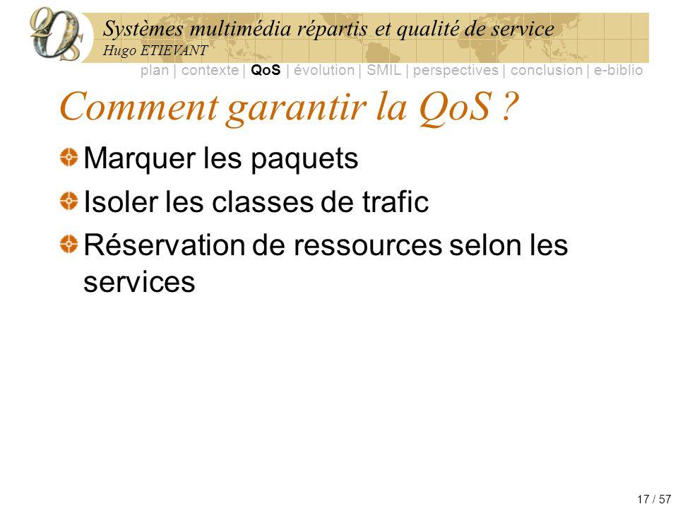 Comment garantir la QoS