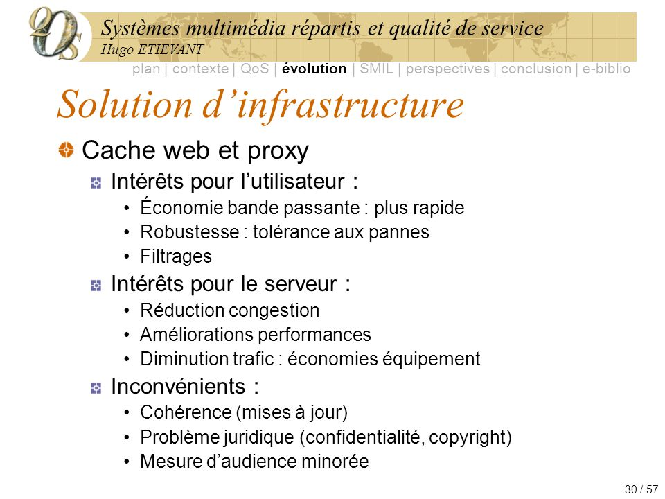Solution d'infrastructure