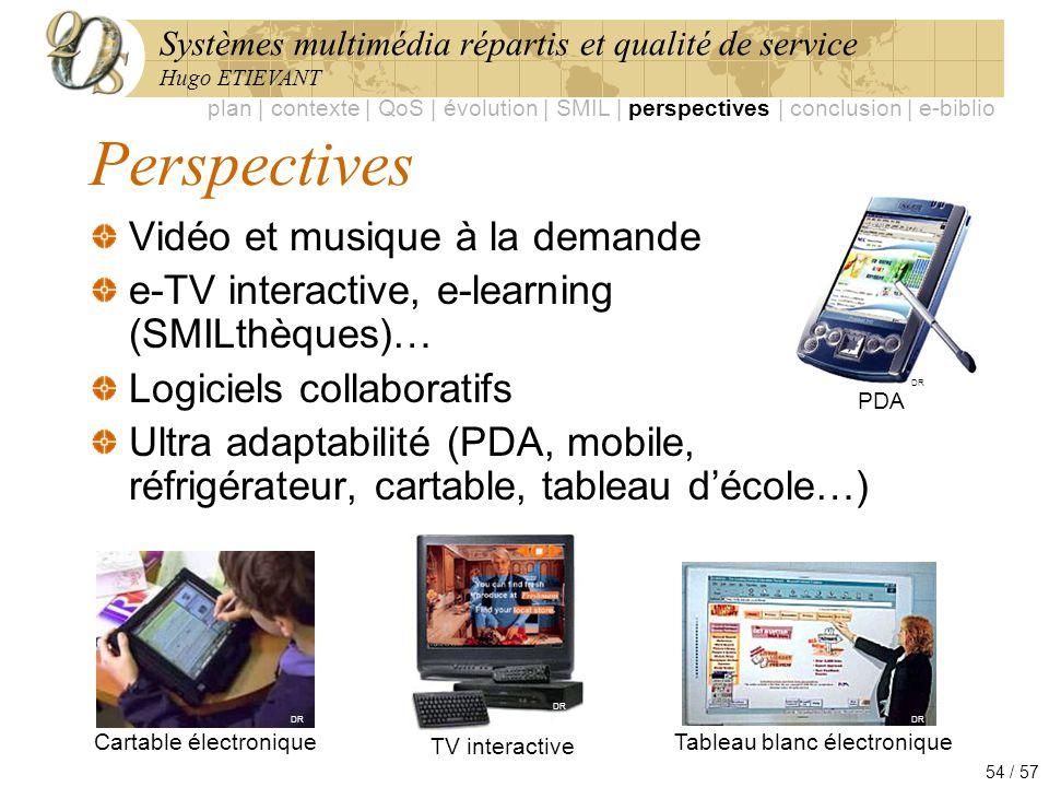 Perspectives Vidéo et musique à la demande