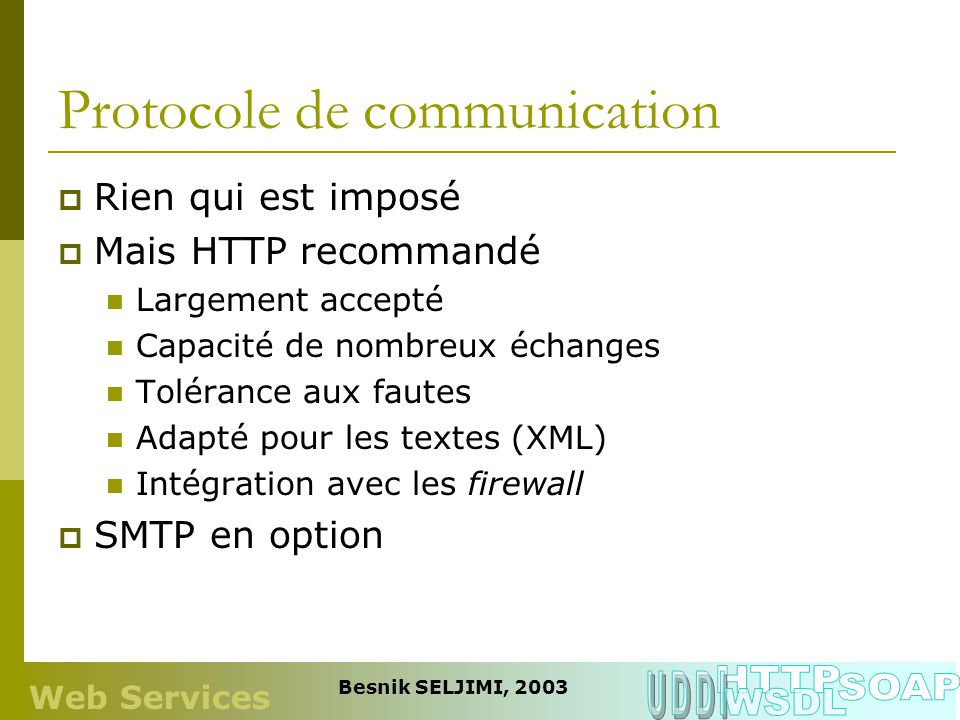 Protocole de communication