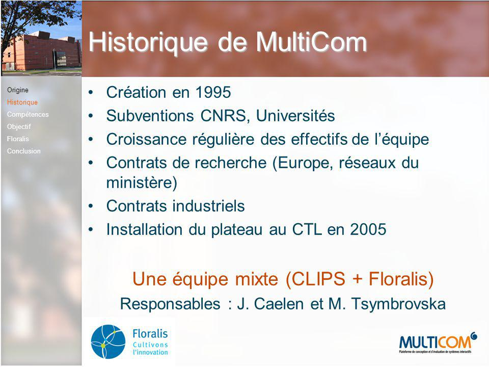 Historique de MultiCom