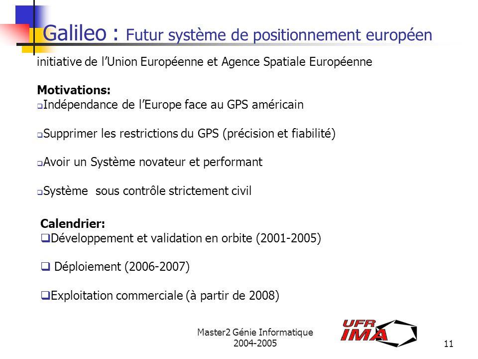 Galileo : Futur système de positionnement européen