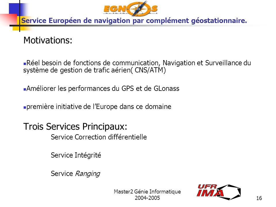 Service Européen de navigation par complément géostationnaire.