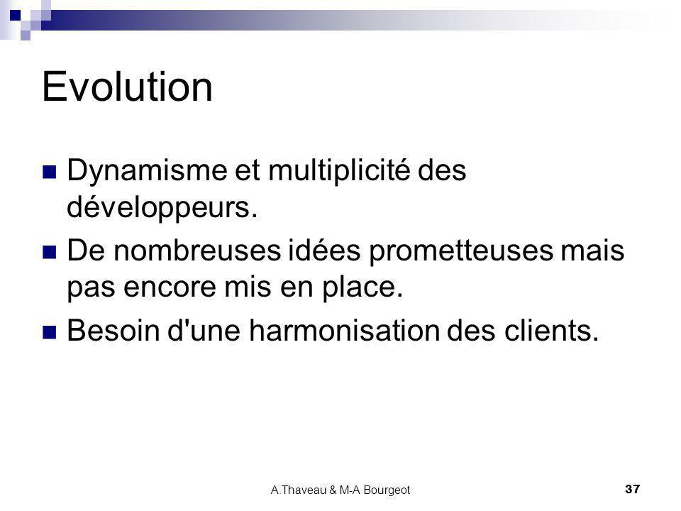 A.Thaveau & M-A Bourgeot