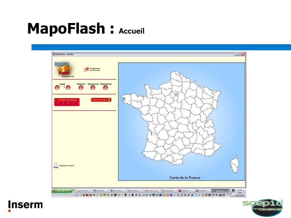 MapoFlash : Accueil