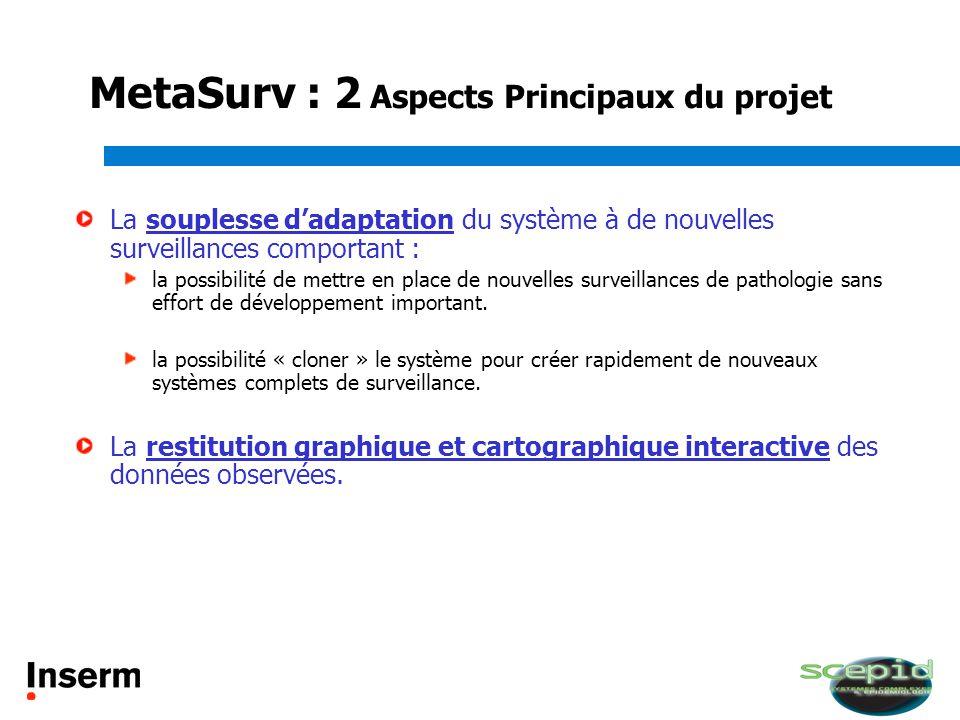 MetaSurv : 2 Aspects Principaux du projet