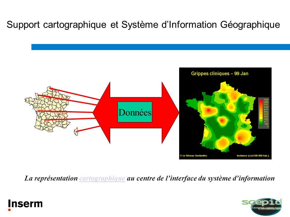 Support cartographique et Système d'Information Géographique