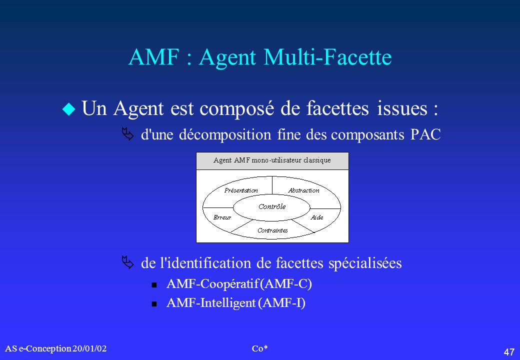 AMF : Agent Multi-Facette