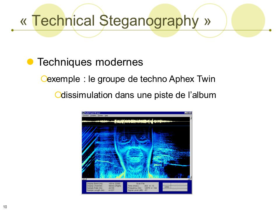 « Technical Steganography »