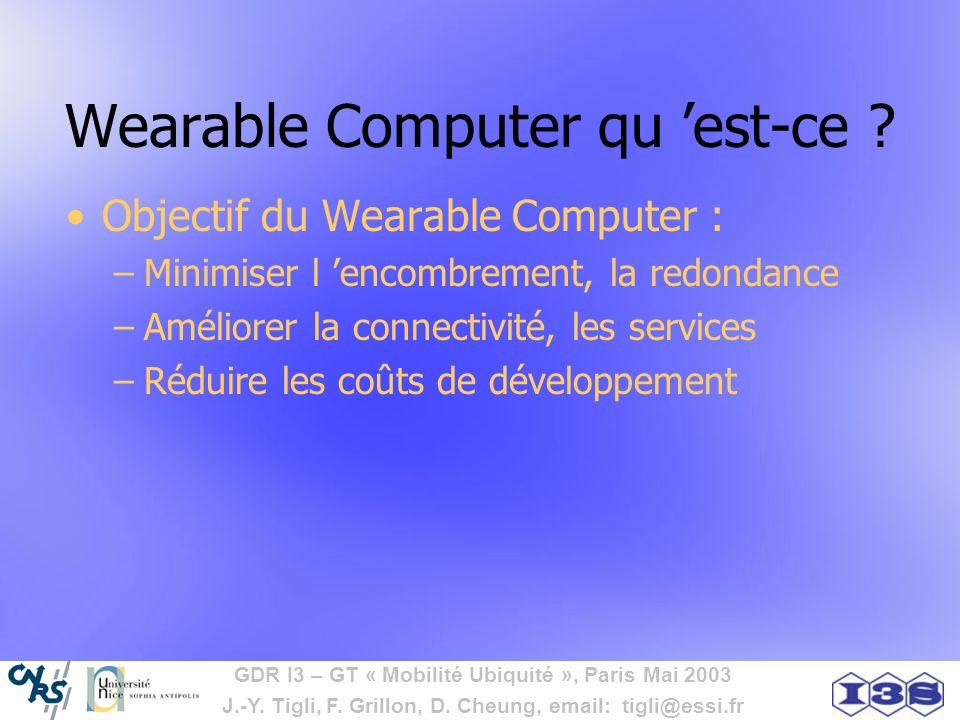Wearable Computer qu 'est-ce