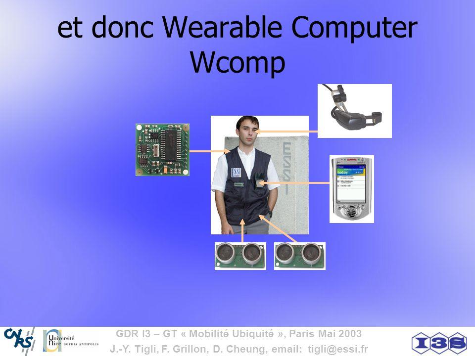 et donc Wearable Computer Wcomp