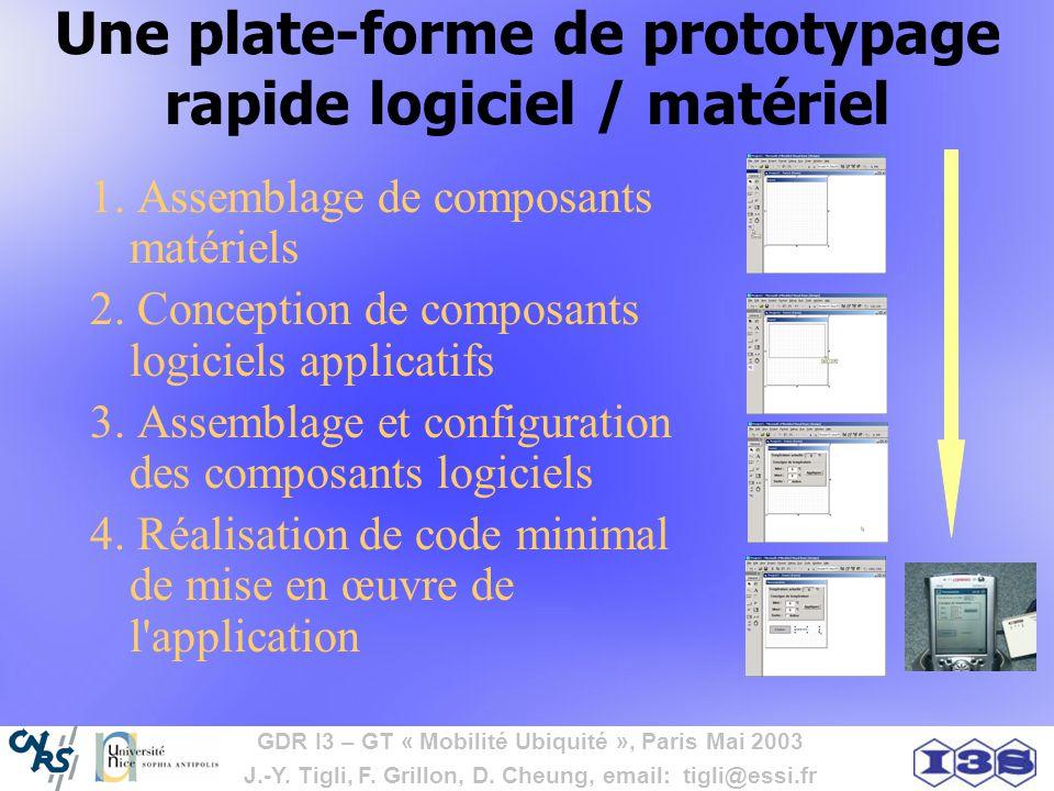 Une plate-forme de prototypage rapide logiciel / matériel