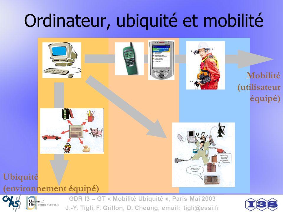 Ordinateur, ubiquité et mobilité