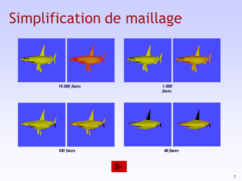 Simplification de maillage