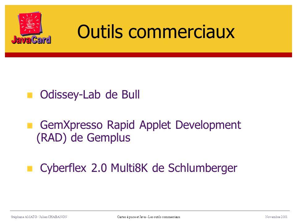 Outils commerciaux Odissey-Lab de Bull