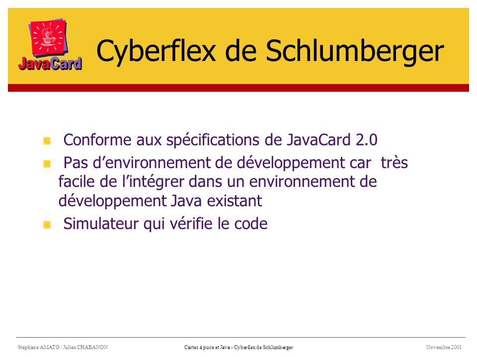 Cyberflex de Schlumberger