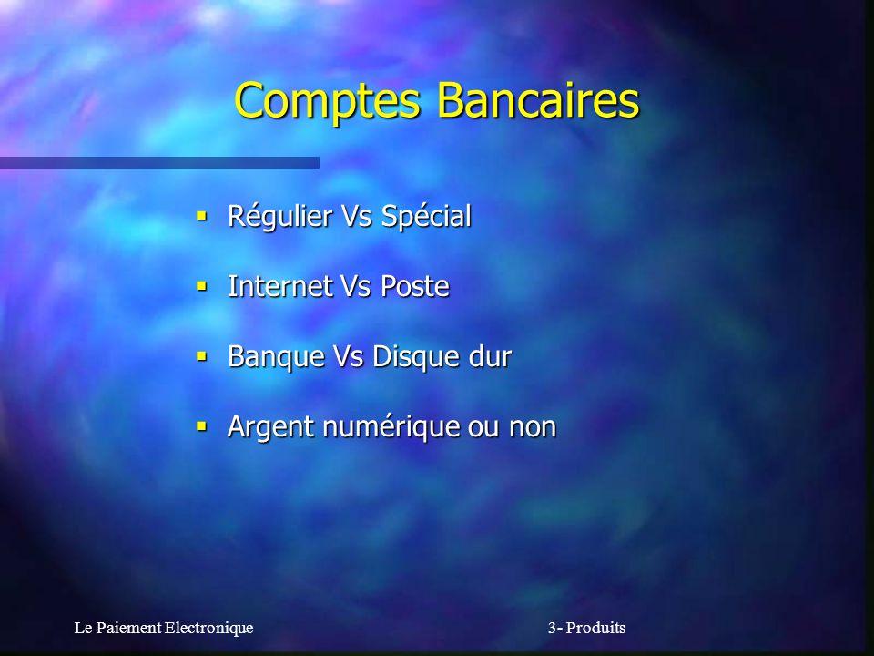 Comptes Bancaires Régulier Vs Spécial Internet Vs Poste
