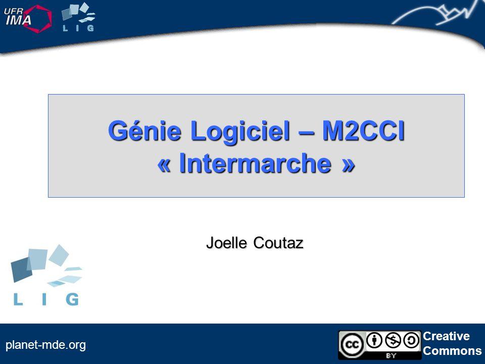 Génie Logiciel – M2CCI « Intermarche »