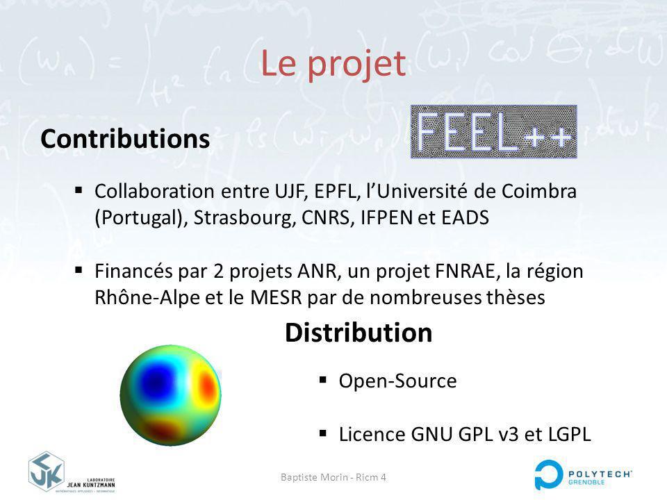 Le projet Contributions Distribution