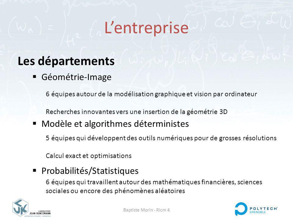 L'entreprise Les départements Géométrie-Image