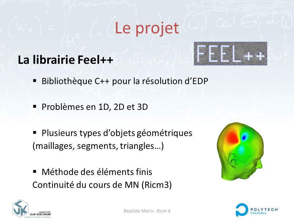 Le projet La librairie Feel++