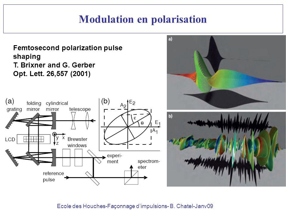 Modulation en polarisation