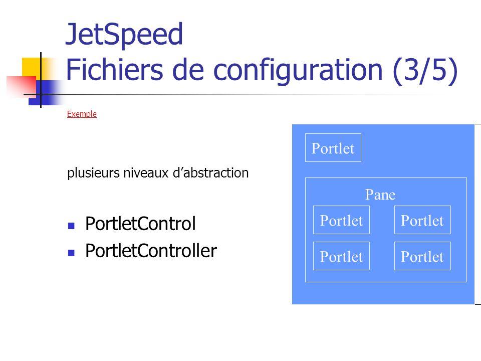 JetSpeed Fichiers de configuration (3/5)