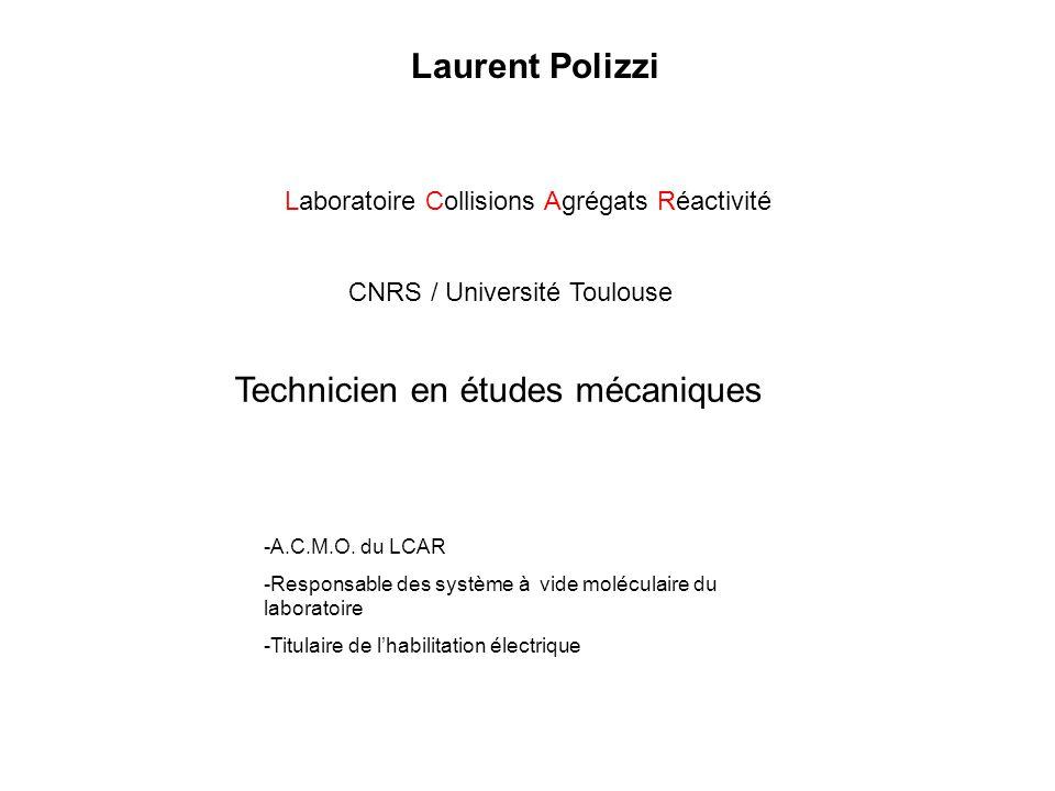 Technicien en études mécaniques