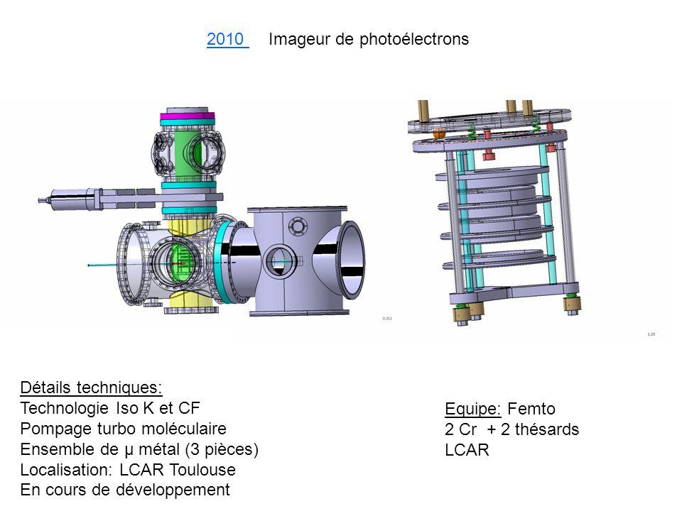2010 Imageur de photoélectrons