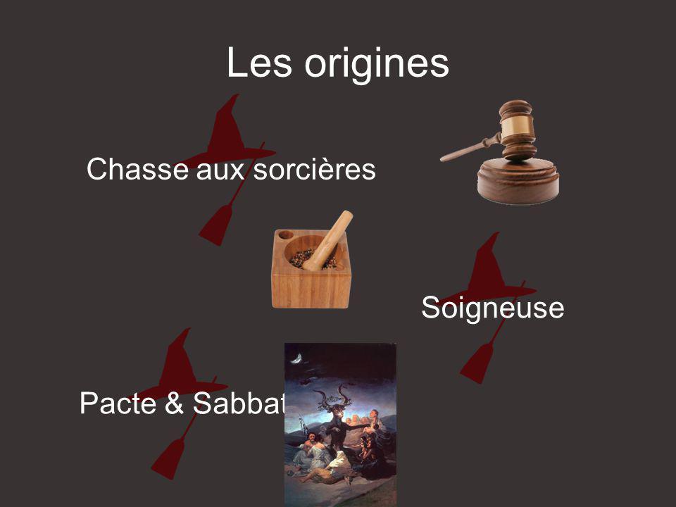 Les origines Chasse aux sorcières Soigneuse Pacte & Sabbat