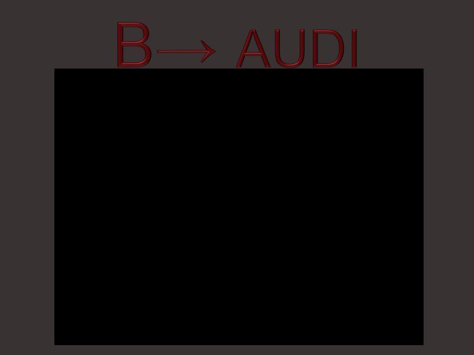 B→ AUDI
