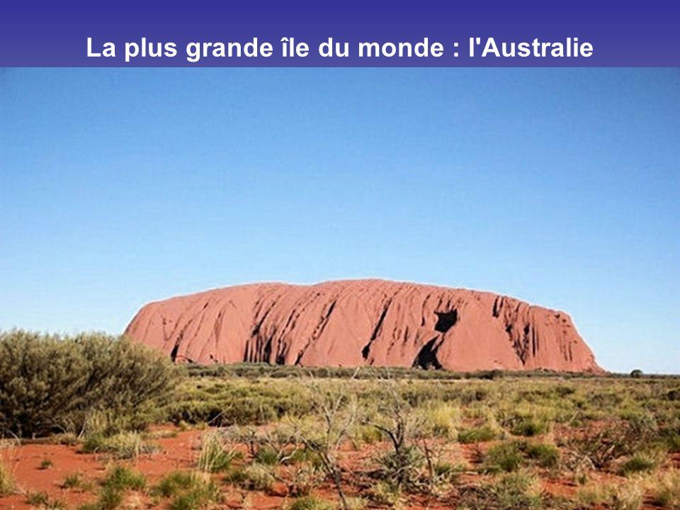 La plus grande île du monde : l Australie