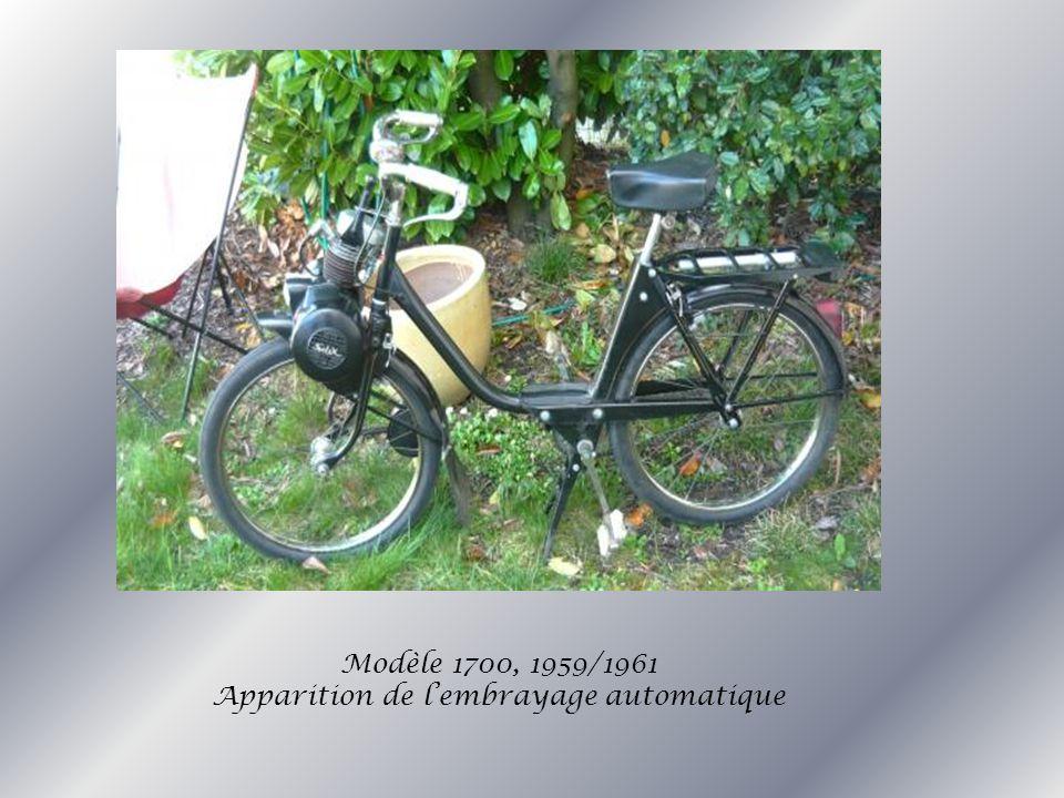 Modèle 1700, 1959/1961 Apparition de l'embrayage automatique