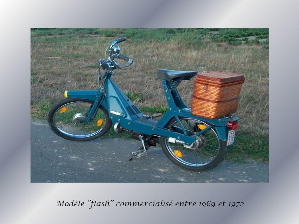 Modèle ''flash'' commercialisé entre 1969 et 1972