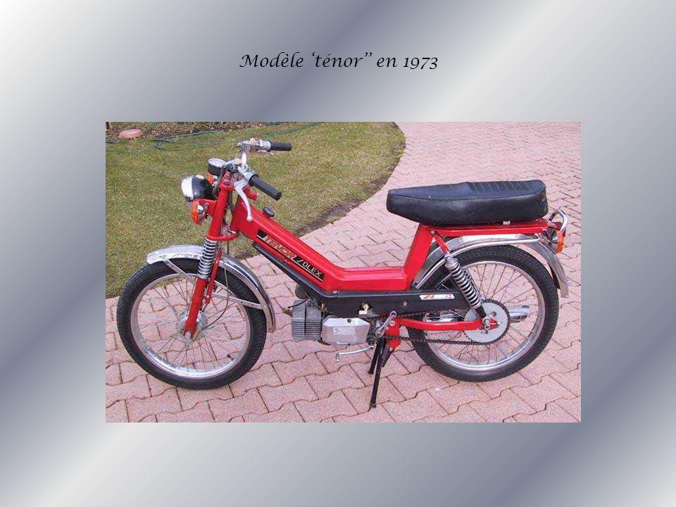 Modèle 'ténor'' en 1973