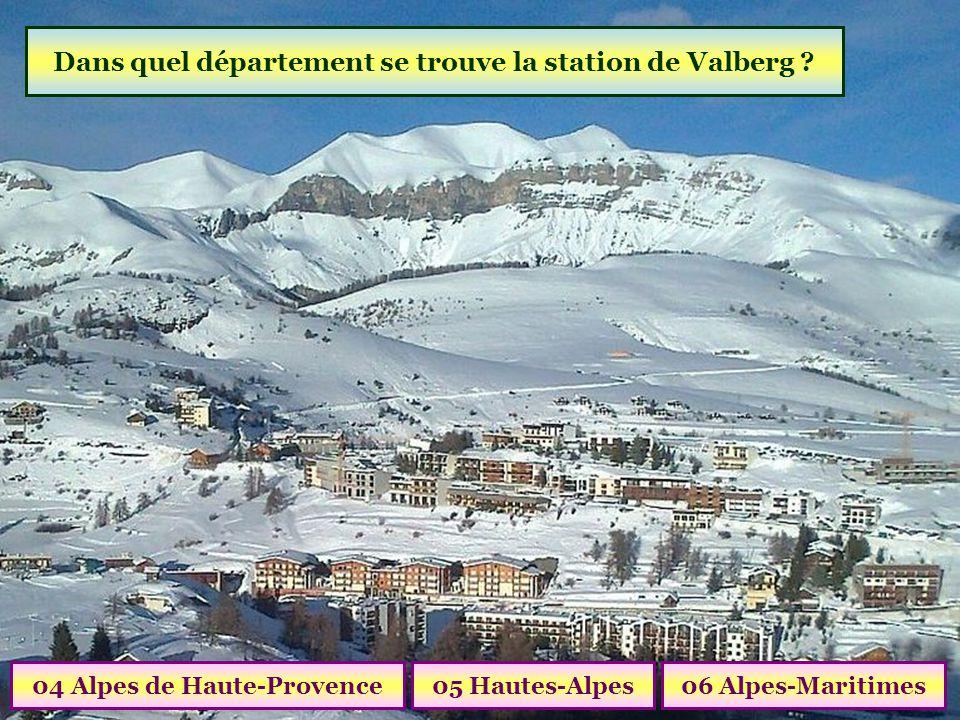 Dans quel département se trouve la station de Valberg