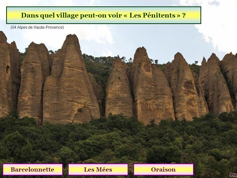 Dans quel village peut-on voir « Les Pénitents »