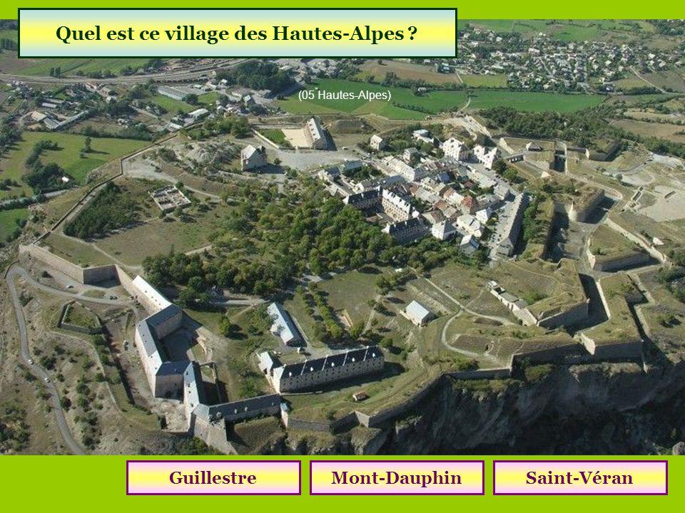 Quel est ce village des Hautes-Alpes