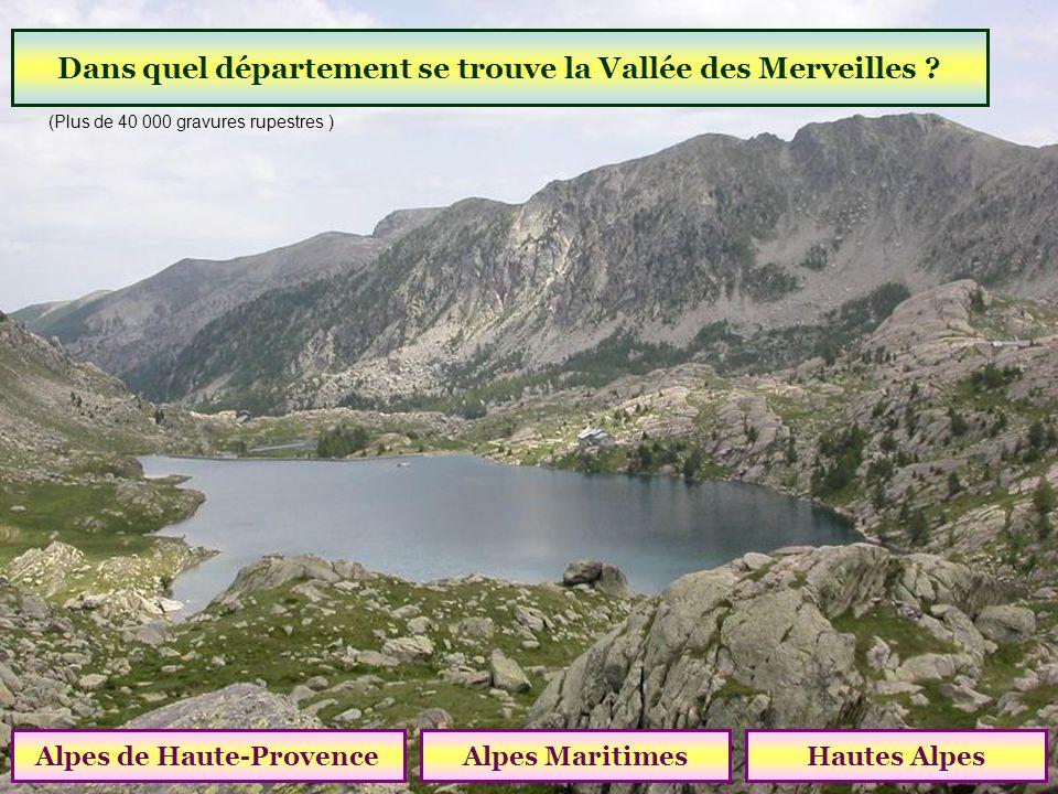 Dans quel département se trouve la Vallée des Merveilles