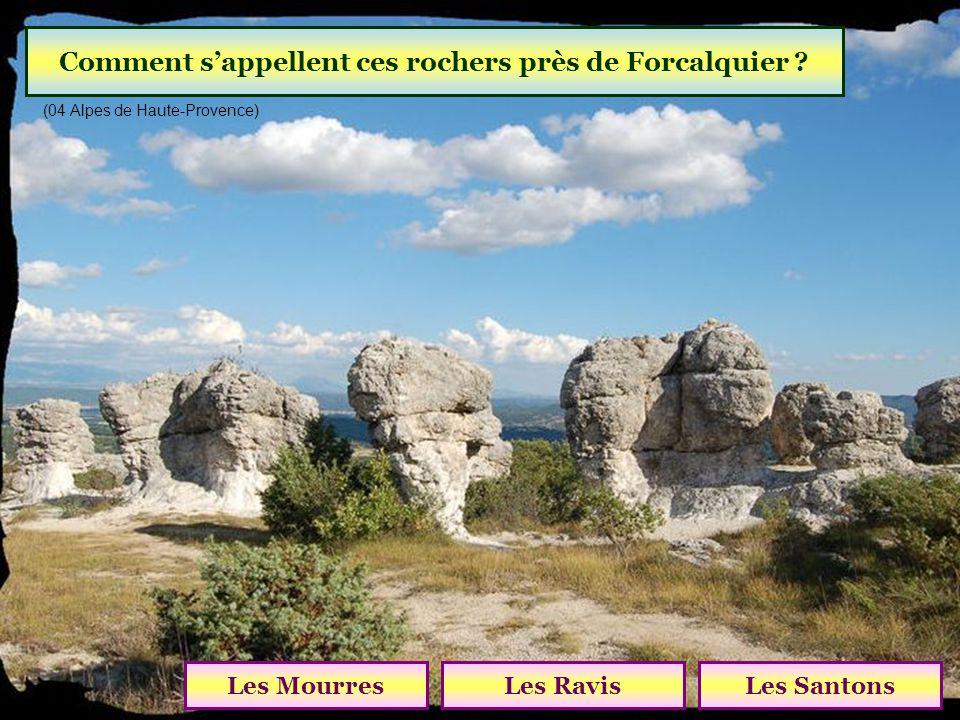 Comment s'appellent ces rochers près de Forcalquier