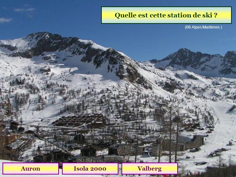 Quelle est cette station de ski